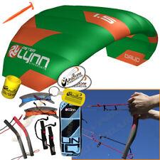 Peter Lynn UNIQ Quad 1.5M 1.5 Meter Single Skin Power Foil Kite 4-Line Handles