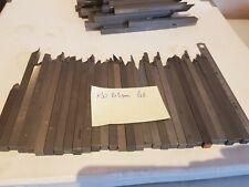 SP Lot de 30 outils carrés burin insert carbure brasé 8 x 8 mm lathe mecanique