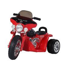 HOMCOM  Triciclo Moto Elettrica per Bambini 80×43×54.5cm,Rosso