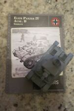 Axis & Allies Miniatures Contested Skies 28 Elite Panzer IV Ausf. D UC w/Card