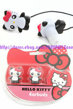 Sanrio Hello Kitty Panda iPods iPhones MP3 Earbuds Ear Pods Earphones Headphones