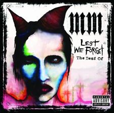 MARILYN MANSON - LEST WE FORGET: THE BEST OF CD ALBUM (2004)