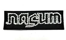 NASUM WHITE LOGO EMBROIDERED PATCH