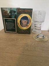 """Lord of the Rings Glass Goblet Collection """"Gandalf the Wizard"""" in Box.Lights Up"""