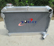 3 Row for Mazda RX7 RX-7 S1 S2 S3 1979-1985 All Aluminum Radiator 81 82 83 84