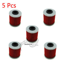 5x Oil Filter For BETA REV 4T 250 EVO 300 SUZUKI RMZ250 RMZ450 KAWASAKI KX250F