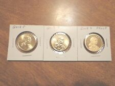 2018 P D S Sacagawea Dollar Proof Native American 3 Coin Set Lot PDS IN STOCK