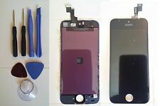 Replacement LCD Screen and Digitizer For iPhone 5C Black + Tools