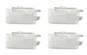 Genuine Mercedes Benz W201 W123 W210 Set Of 4 Interior Courtesy Light 1268201301