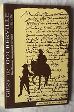 C.Blanguernon : GILLES DE GOUBERVILLE 1521-1578 Normandie Cotentin