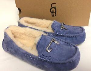 Ugg Australia Florencia Nocturn Slippers Moccasins Crystal Embellished 1019020