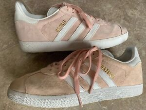 Adidas Gazelle BA9600 Pink Suede Fashion Sneakers Women's Size 7.5