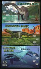 Jurassic Bank, 3;9;15 Din, 2015 - Mosasaurus, Diplodocus, Dryptosaurus