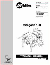 Miller Renegade 180 Technical Manual Eff W Lh160455r And Following