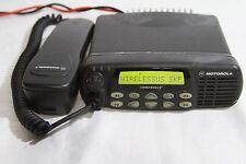 Motorola Cdm1550Ls+ 403-470Mhz 40Watts 160Ch. Mobile Radio Model# Aam25Rkf9Dp6An