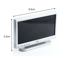 Silver 42 Widescreen TV NEW for Dolls Houses 1:12th Scale