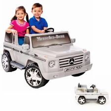 12V MP3 Kids Battery Powered Electric Ride On Car 4 Wheel Mercedes Benz Jeep NEW