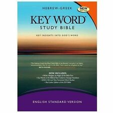 HEBREW-GREEK KEY WORD STUDY BIBLE - AMG PUBS (COR) - NEW HARDCOVER BOOK