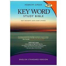 HEBREW-GREEK KEY WORD STUDY BIBLE - NEW HARDCOVER BOOK