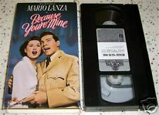Because You're Mine Mario Lanza Not a Rental VHS