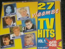 27 VLAAMSE TV HITS VOLUME 1 (2 CD - 1995) Dana Winner, Frank Valentino,....