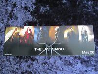 X-MEN THE LAST STAND - WOLVERINE, HUGH JACKMAN promotional sticker