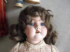 Antique Bisque Composition Handwerck 421 Girl Doll Look