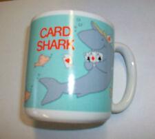 1985 American Greetings Corp. CARD SHARK Coffee Mug Cup