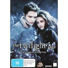 Twilight Forever The Complete Saga (New Moon Eclipse Breaking Dawn Part 1 2) DVD