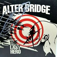 ALTER BRIDGE THE LAST HERO SIGNED CD BOOKET MARK TREMONTI MYLES KENNEDY