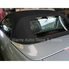 Porsche Boxster Convertible Top 97-02 in Black Stayfast Cloth, Plastic Window