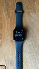 Apple Watch Series 5  GPS 44mm Space Grey Aluminium Armband Silikon