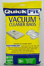 QuickFit Vacuum Cleaner Bags For Electrolux 5 Bags Included Plus Filter QB131