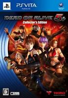 PS Vita Dead or Alive 5 Plus Collector's Edition Free Ship w/Tracking# New Japan