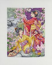 Anchor Maia-Cross Stitch Kit-geishas - 30 X 40 Cm - 01025