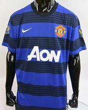 2011-2013 nike Manchester United Away Shirt Champions Patch SIZE XL (adults)