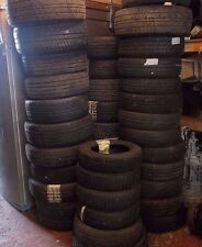 * JOBLOT * ASSORTED TYRES IN USED CONDITION - MIXTURE OF SIZES