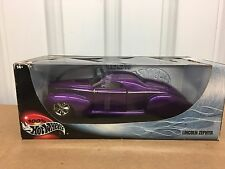 BE Hot Wheels 29229 Lincoln Zephyr Purple  1/18