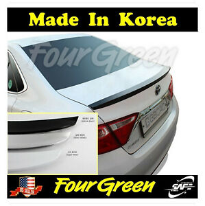 White Rear Trunk Lid Spoiler Wing for 2015-2017 Toyota camry ⭐⭐⭐⭐⭐
