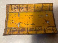 Metalcraft base plate for Coca Cola Coke Delivery pressed steel trucks 1930-40