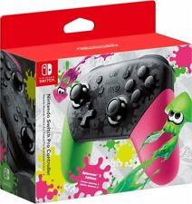 Nintendo Switch Splatoon 2 - Pink Green Wireless Pro Controller - New & Sealed