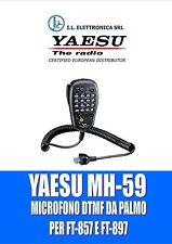 MH-59 A8J MICROFONO PALMARE CON DTMF PER YAESU FT-857 E FT-897  100015