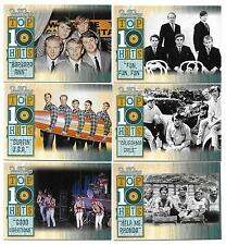 2013 Panini Beach Boys 50th Anniversary Top 10 Hits Insert Set (18 cards)