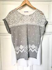 T-Shirt Mit Spitze Von Zara