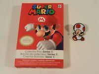 Nintendo Super Mario Series 1 Collector Pins - Toad