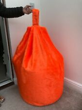 Cover only bean bag adult tango faux fur 6 cubic ft size soft toy storage