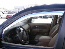 Chrome Trim Window Visors - Fits Honda Pilot 2003 04 05 06 07 2008 (Set of 4)