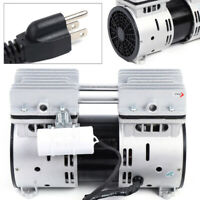 Oil-free Micro Air Diaphragm Pump Industrial Oil Free Piston Vacuum Pump 550W US