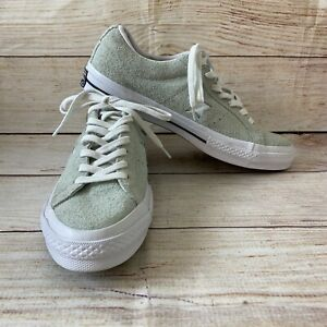 Converse One Star Chuck Taylor M 8.5/W 10.5 Low Top Gray Suede Sneakers 158434C