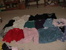 WOMEN'S CLOTHING TOPS LOT OF 16 ALL SIZE LARGE KATHY IRELAND, ALFRED DUNNER +++